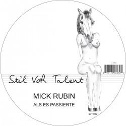 Cover Artwork Mick Rubin – Als Es Passierte