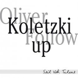 Cover Artwork Oliver Koletzki – Follow Up