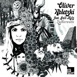 Cover Artwork Oliver Koletzki feat. Juli Holz – Zuckerwatte