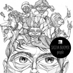 Cover Artwork Sascha Braemer – People