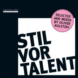 Cover Artwork Various Artists – 6 Years Stil vor Talent