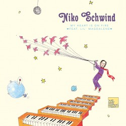 Cover Artwork Niko Schwind – My Heart Is On Fire feat. Lil' Magdalene