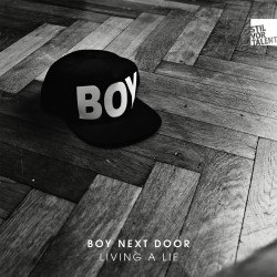 Cover Artwork Boy Next Door – Living a Lie