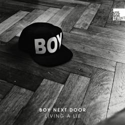 Cover Artwork Boy Next Door – Living a Lie