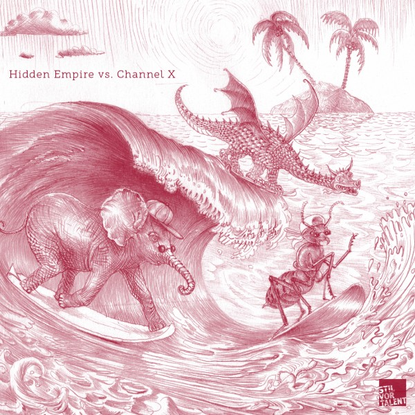 Cover SVT172 - Various Artists Hidden Empire vs. Channel X