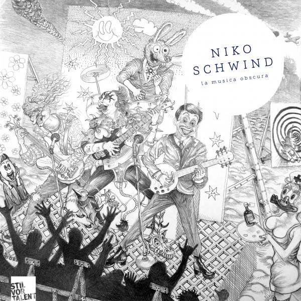 Cover SVT192 - Niko Schwind  La Musica Obscura