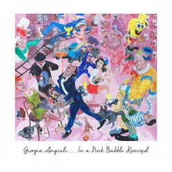 Cover Artwork Giorgia Angiuli – In a Pink Bubble Remixed