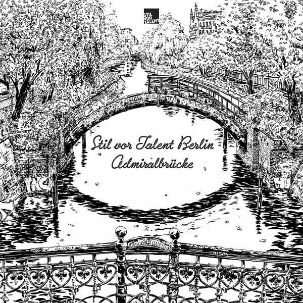Cover TBA - Various Artists Stil vor Talent Berlin I Admiralsbrücke